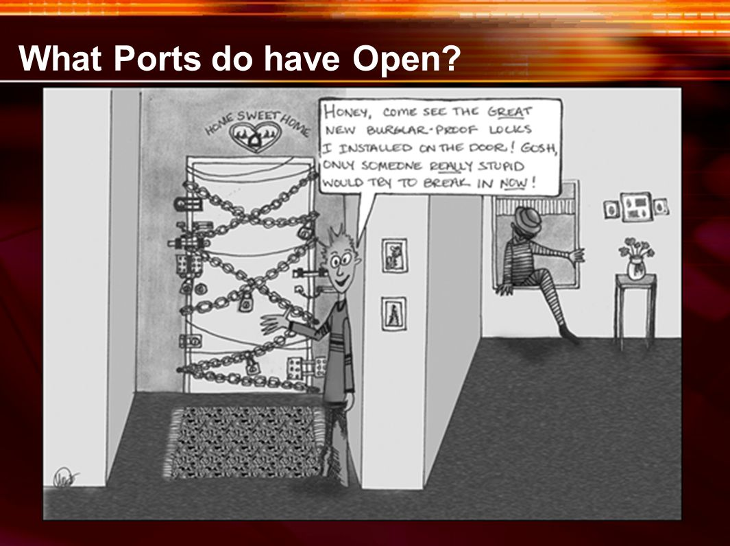 What Ports do have Open