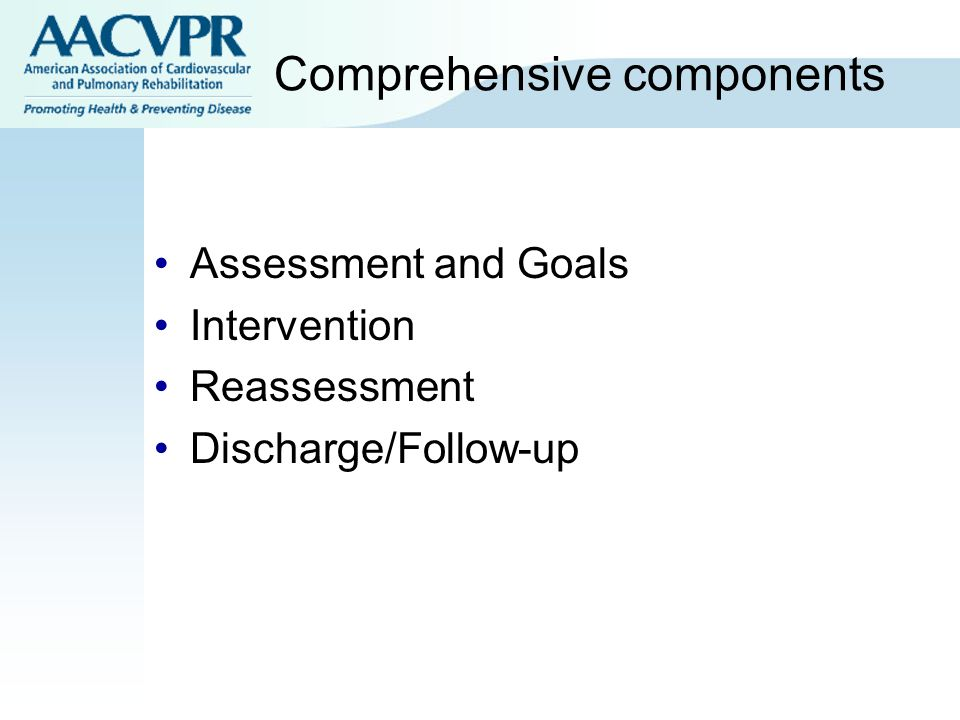 Comprehensive components
