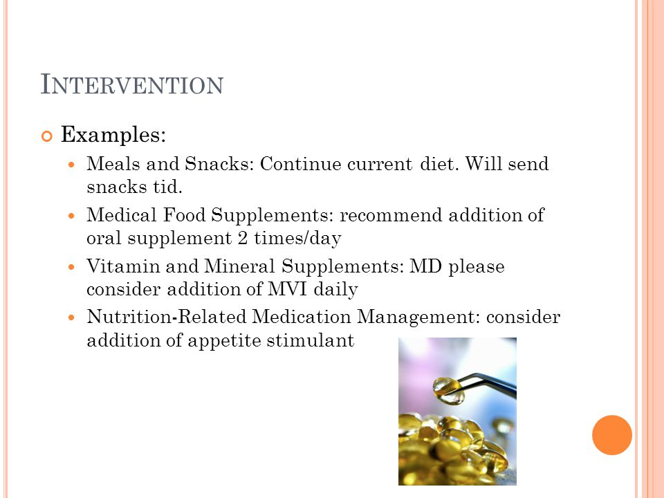 Intervention Examples: