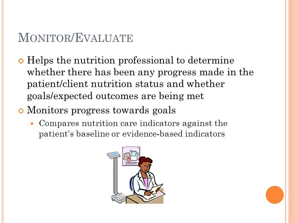 Monitor/Evaluate