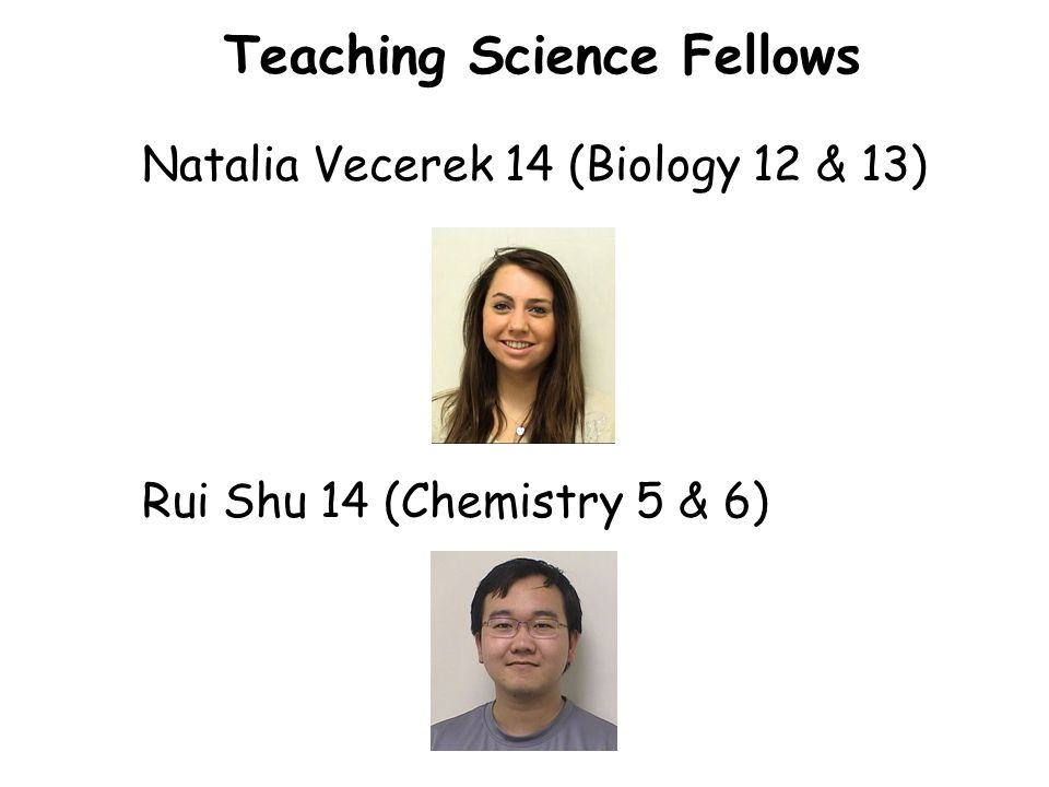 Teaching Science Fellows