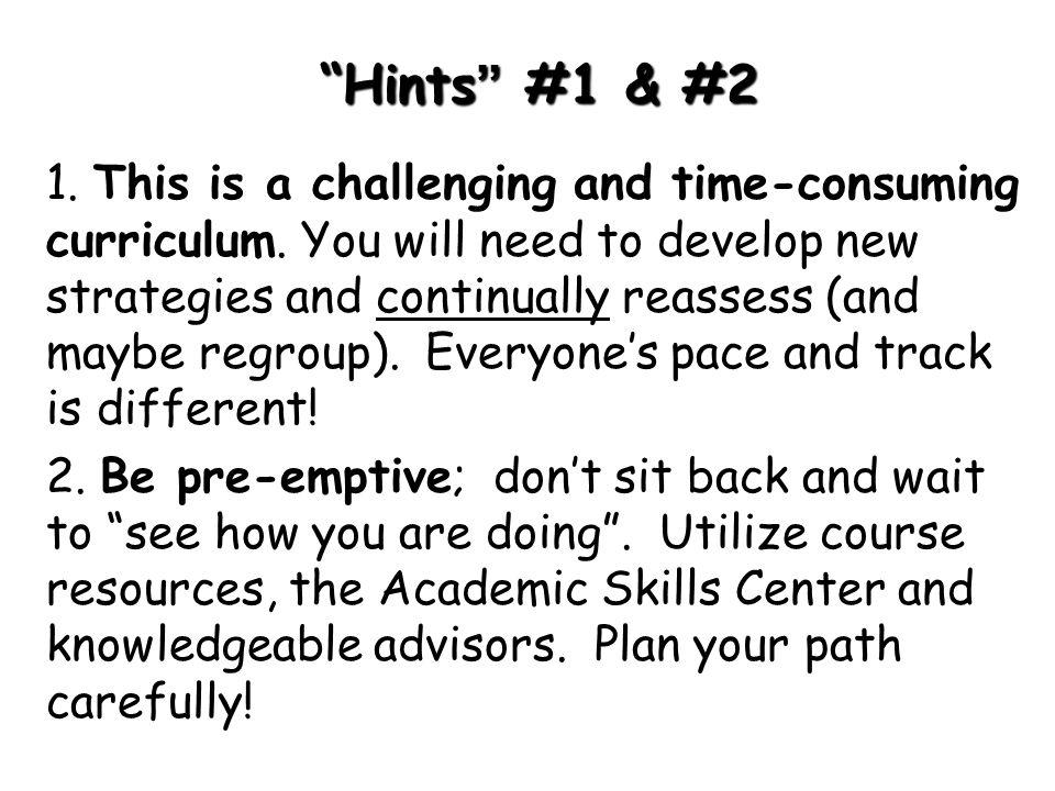 Hints #1 & #2