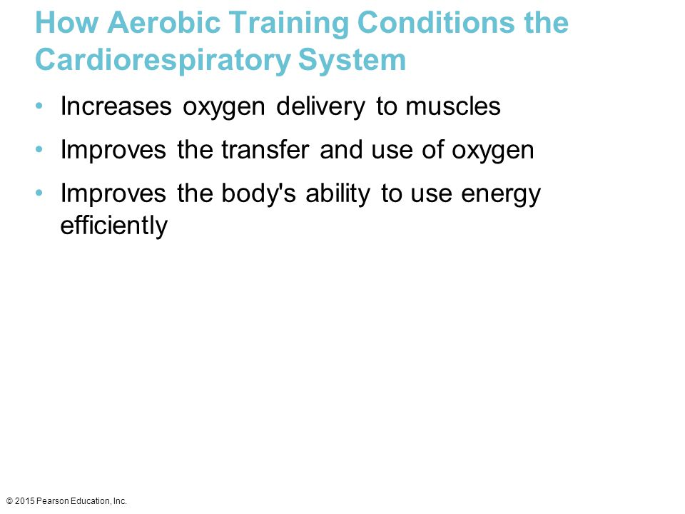 How Aerobic Training Conditions the Cardiorespiratory System