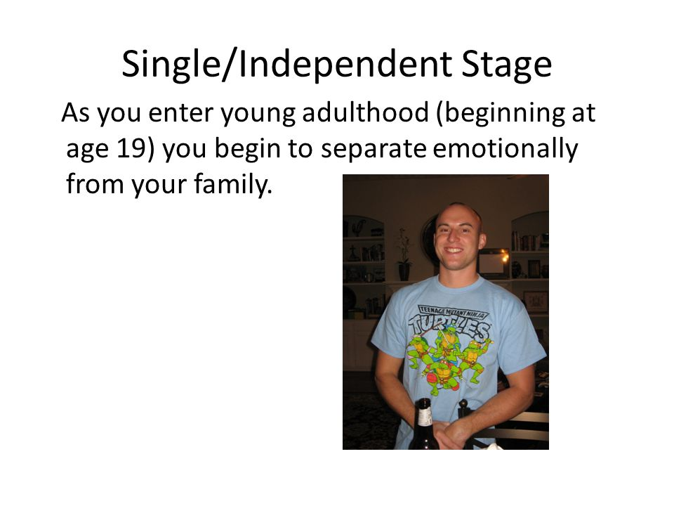 Single/Independent Stage