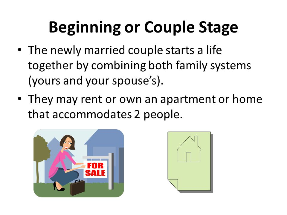 Beginning or Couple Stage