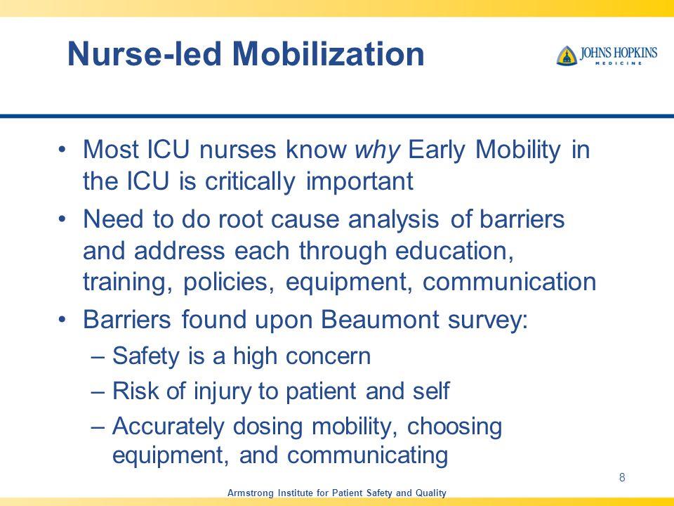 Nurse-led Mobilization