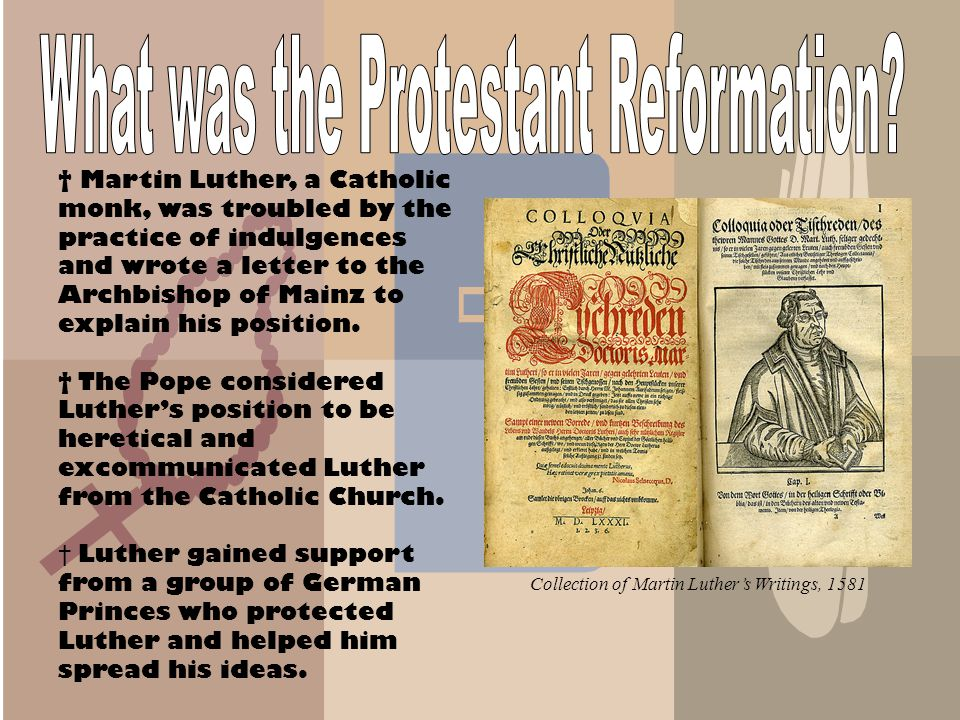 What was the Protestant Reformation