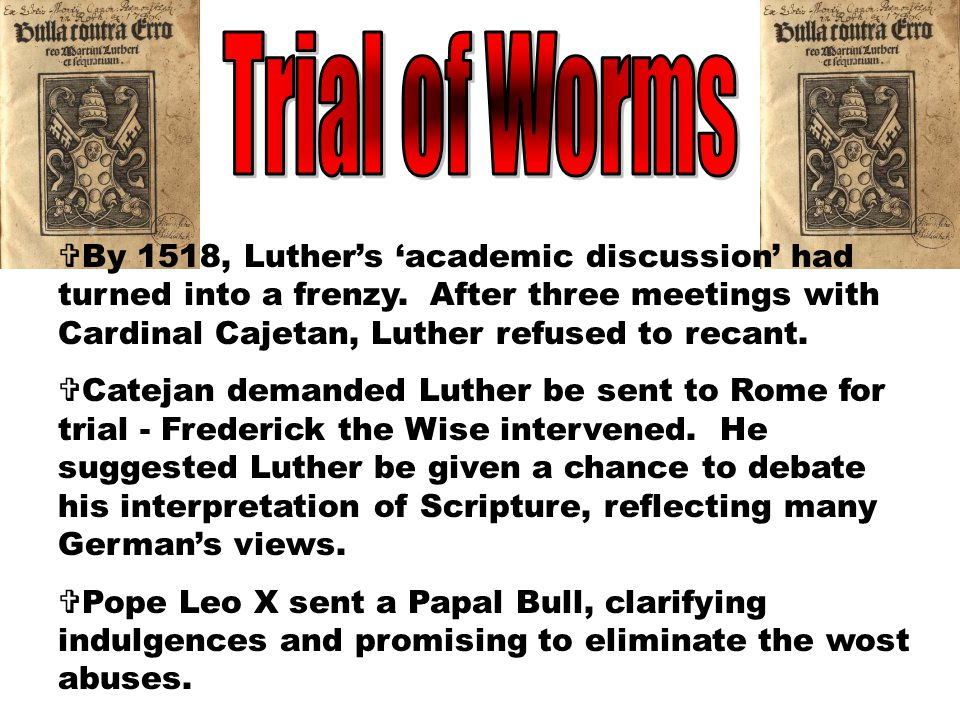 Trial of Worms