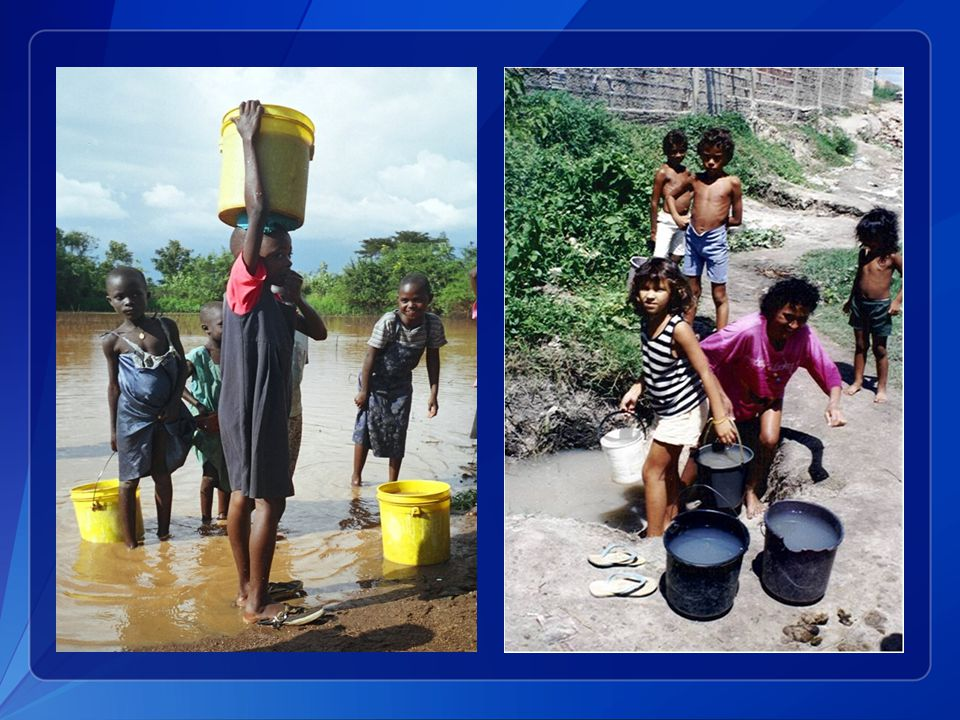 Drinking contaminated surface water is also an important source of epidemic cholera.