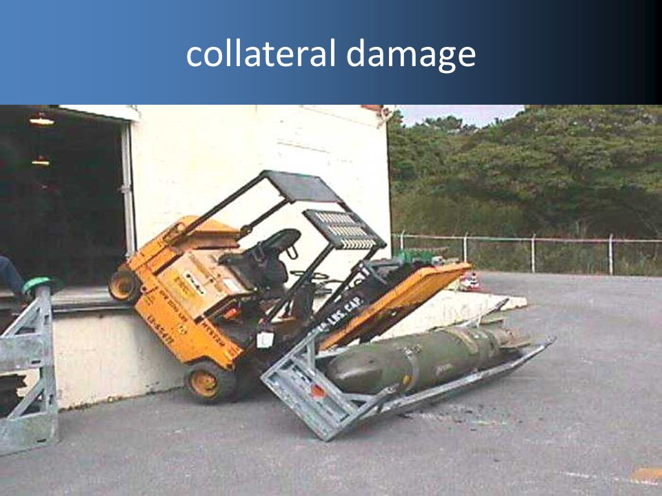 collateral damage Project delivers but causes damage to the existing business.