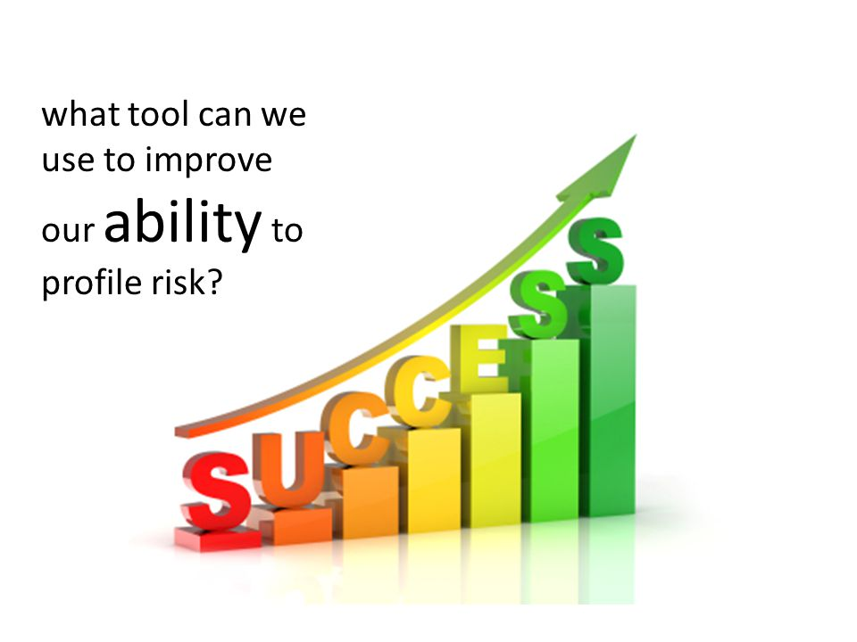 what tool can we use to improve our ability to profile risk