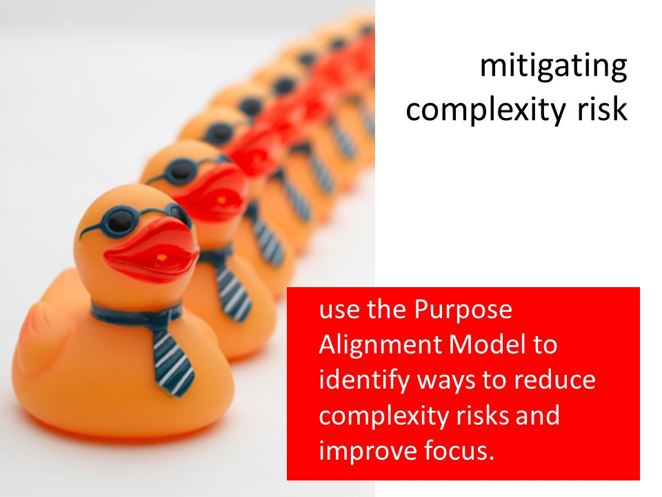 mitigating complexity risk