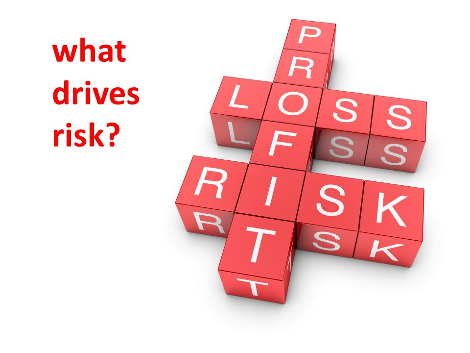what drives risk