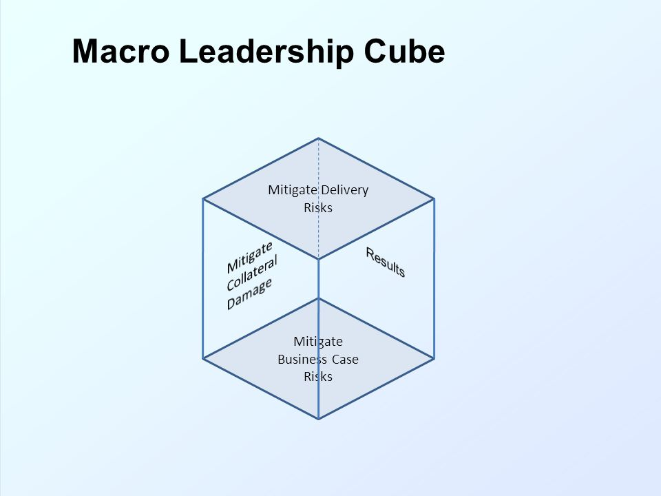 Macro Leadership Cube Mitigate Collateral Damage Results