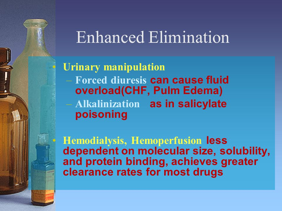 Enhanced Elimination Urinary manipulation