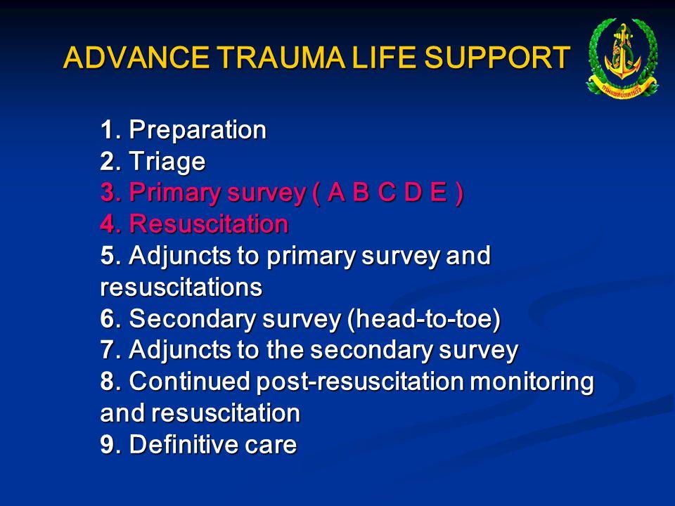 ADVANCE TRAUMA LIFE SUPPORT