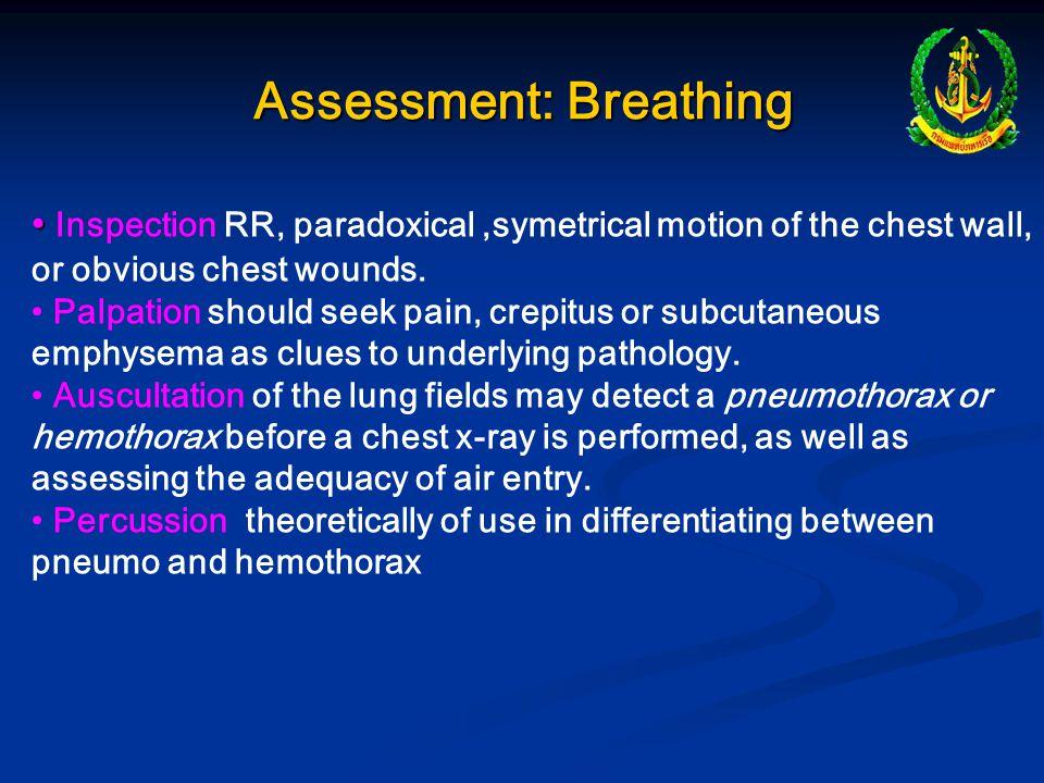 Assessment: Breathing