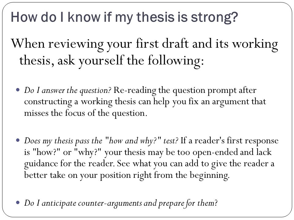 ways to avoid fallacies in your thesis Provide good support for your thesis shouldn't use them as evidence in your own writing what are fallacies there are two easy ways to avoid committing.