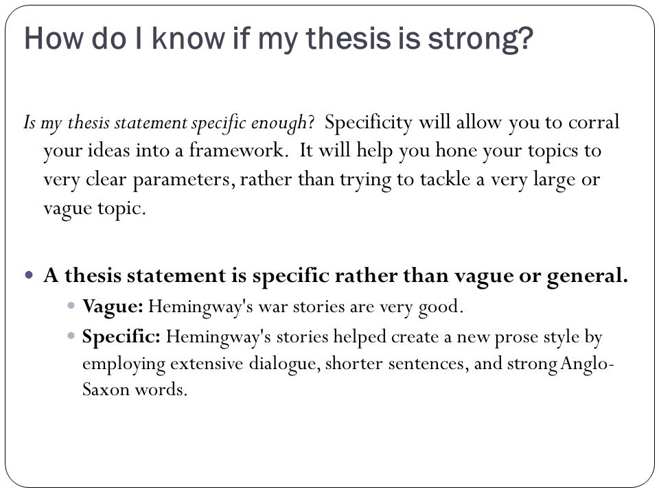 hemingway thesis statement Thesis statement examples ernest hemingway no plagiarism — exclusive writing in approximately 108 subjects.