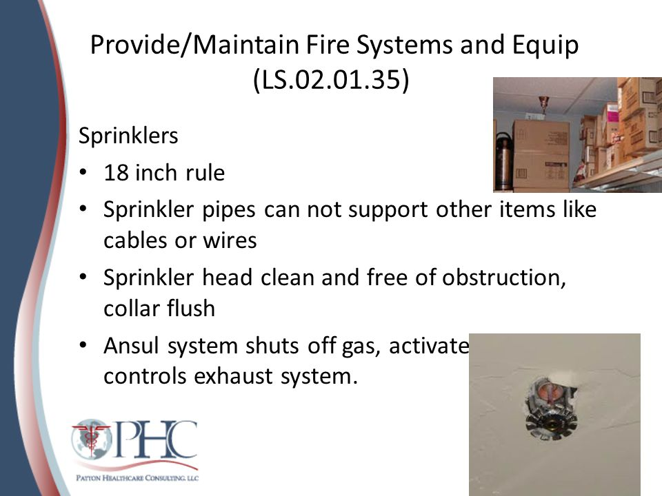 Provide/Maintain Fire Systems and Equip (LS.02.01.35)