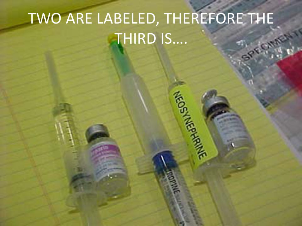 TWO ARE LABELED, THEREFORE THE THIRD IS….