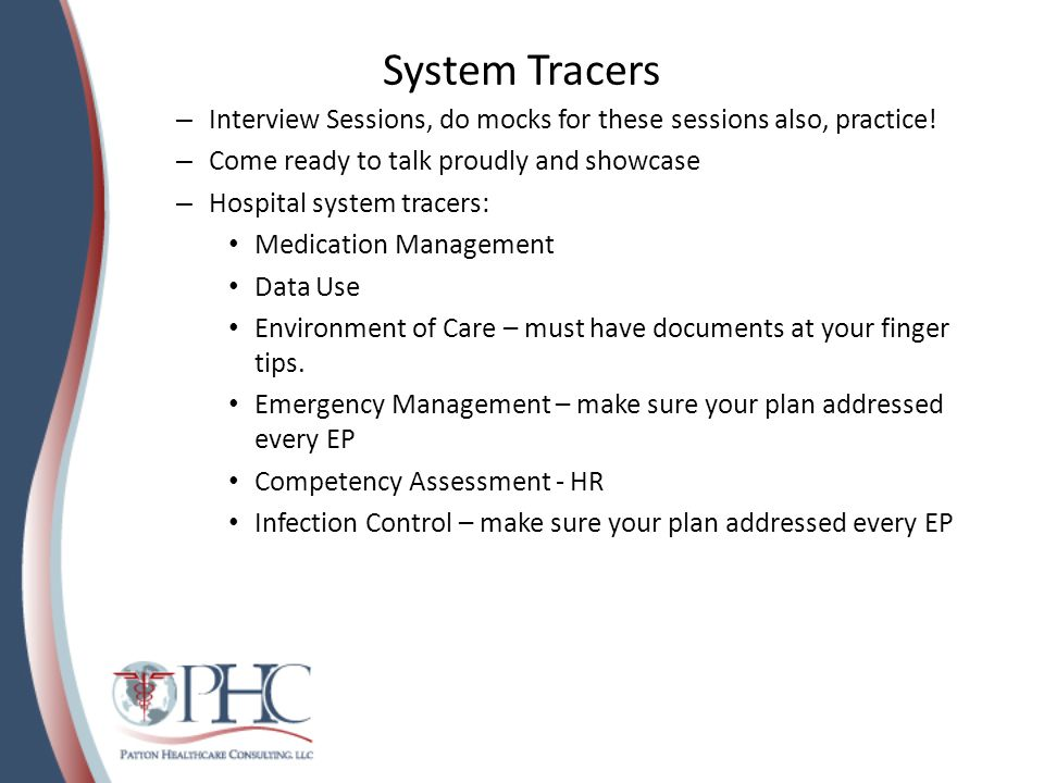 System Tracers Interview Sessions, do mocks for these sessions also, practice! Come ready to talk proudly and showcase.