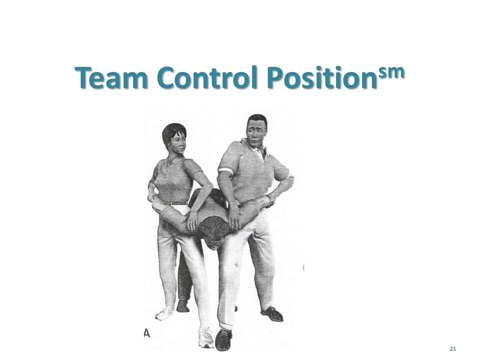 Team Control Positionsm