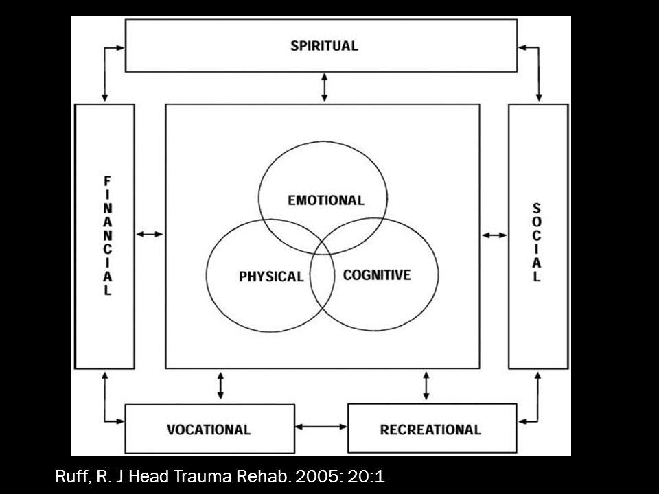 Ruff, R. J Head Trauma Rehab. 2005: 20:1