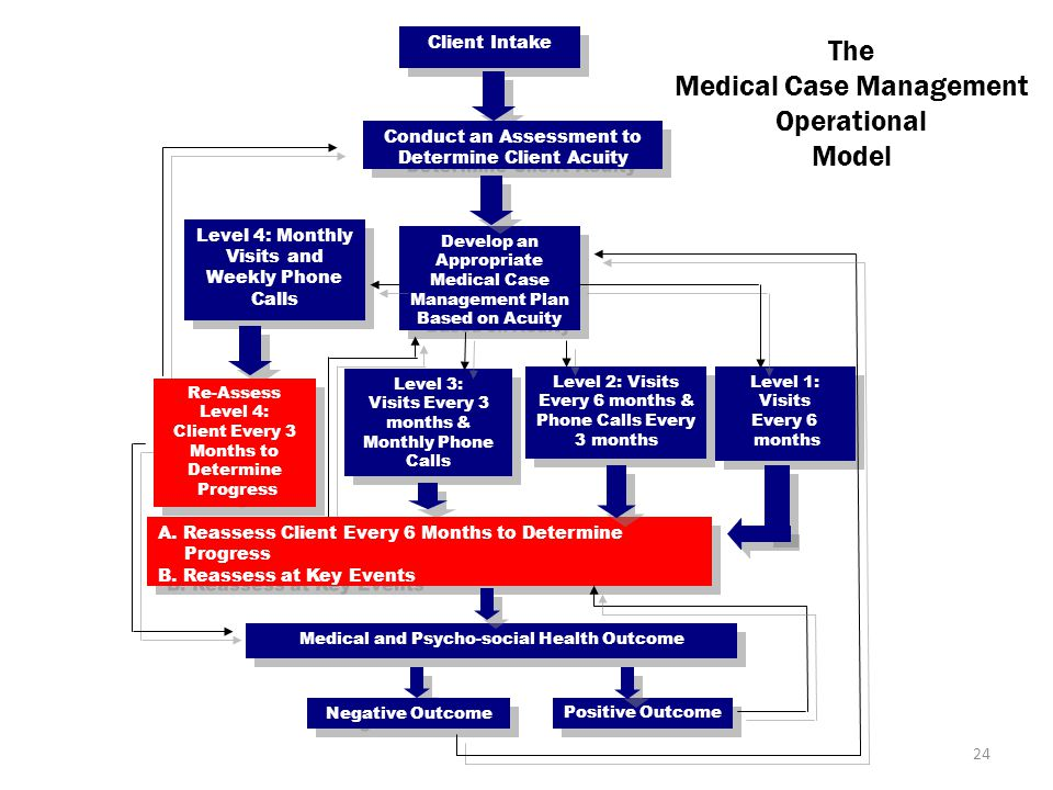 Medical Case Management Operational Model