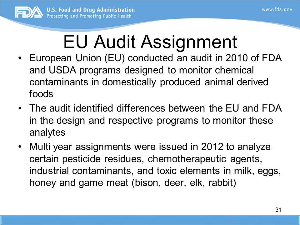 EU Audit Assignment