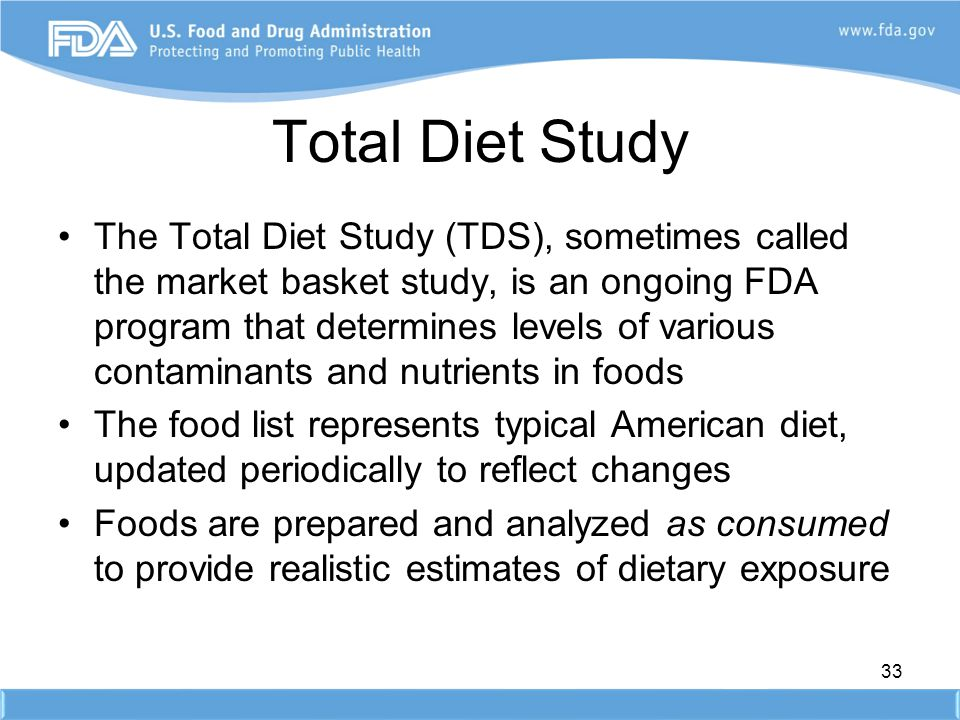 Total Diet Study