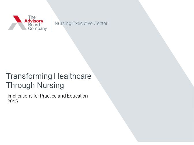 Transforming Healthcare Through Nursing