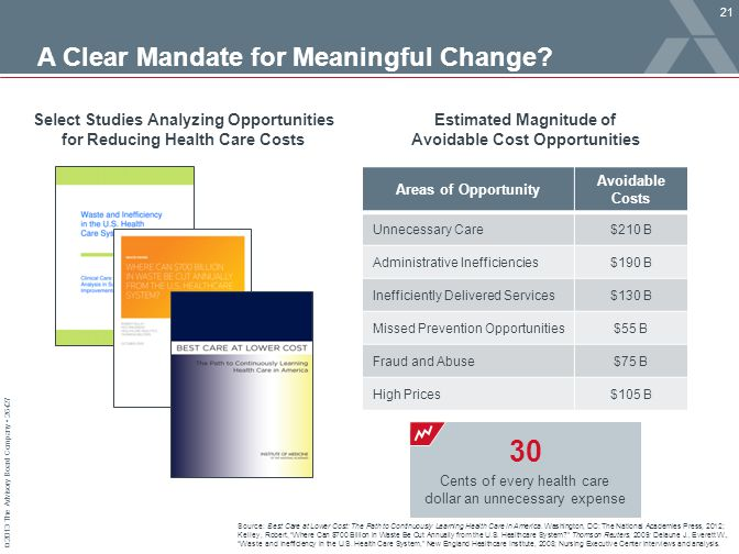 A Clear Mandate for Meaningful Change
