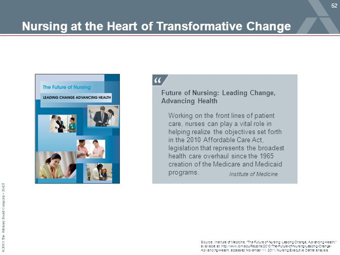 Nursing at the Heart of Transformative Change