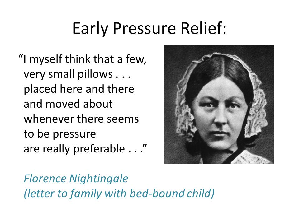 Early Pressure Relief: