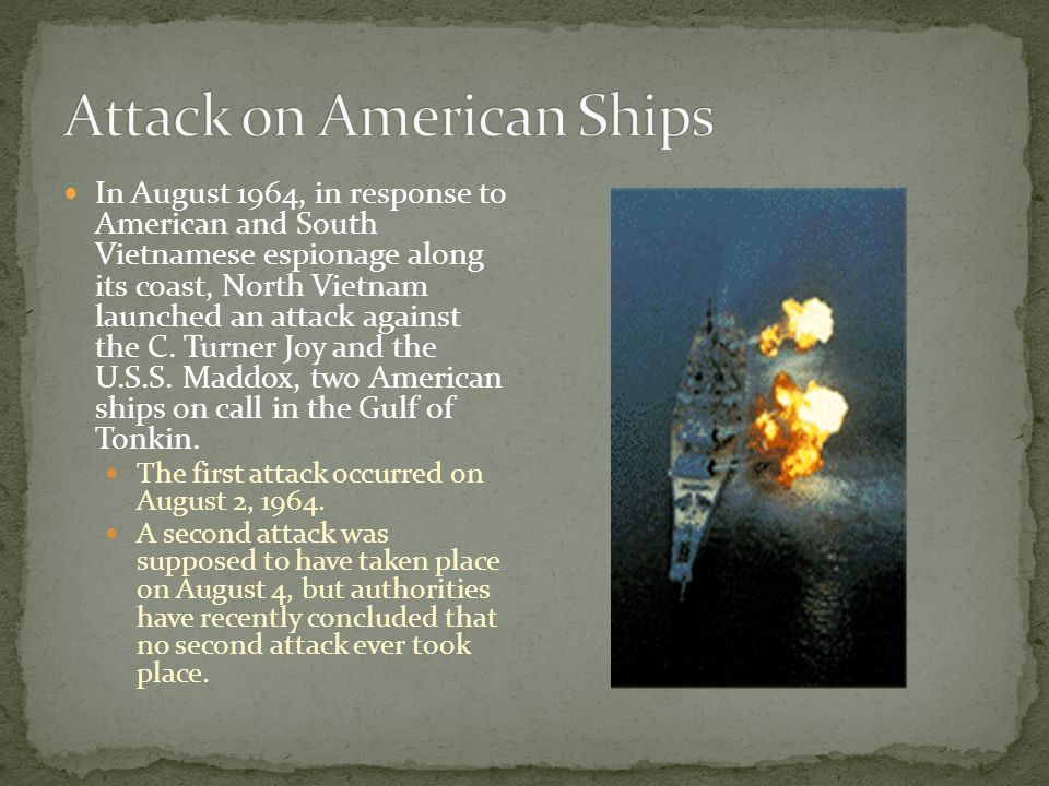 Attack on American Ships