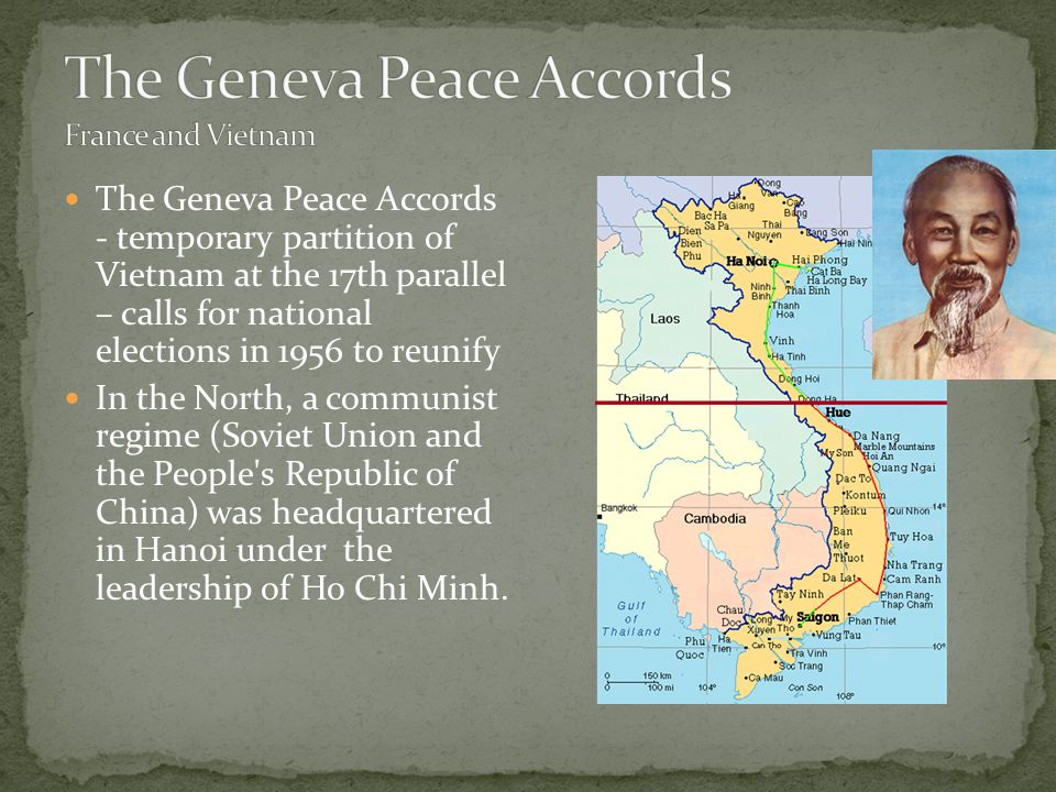 The Geneva Peace Accords France and Vietnam