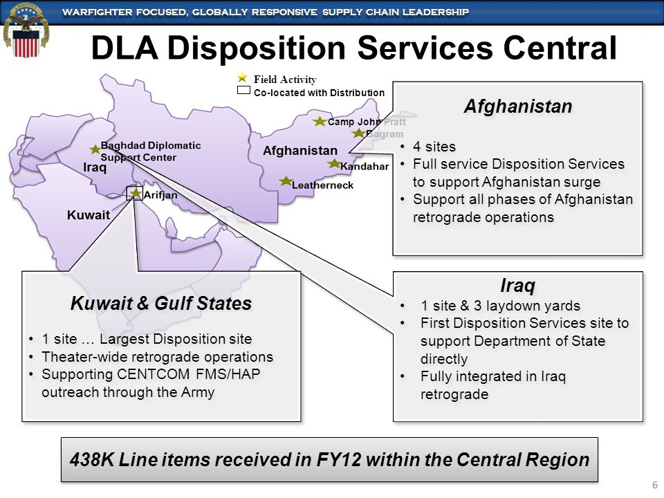 DLA Disposition Services Central