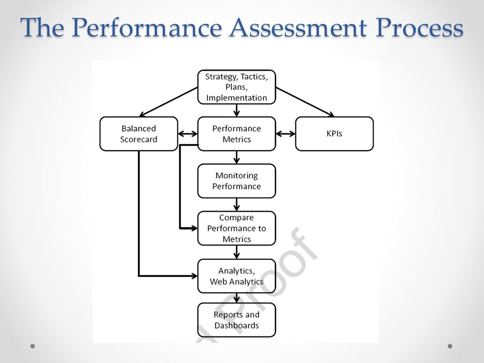 The Performance Assessment Process