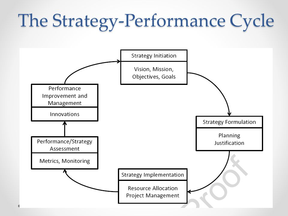 The Strategy-Performance Cycle