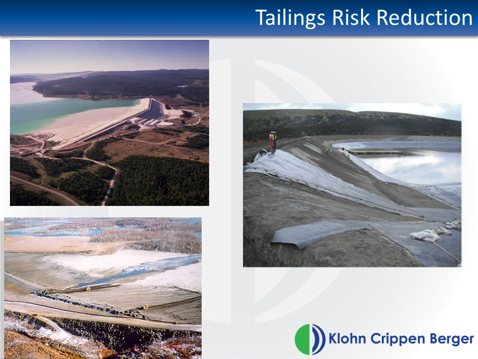 Tailings Risk Reduction