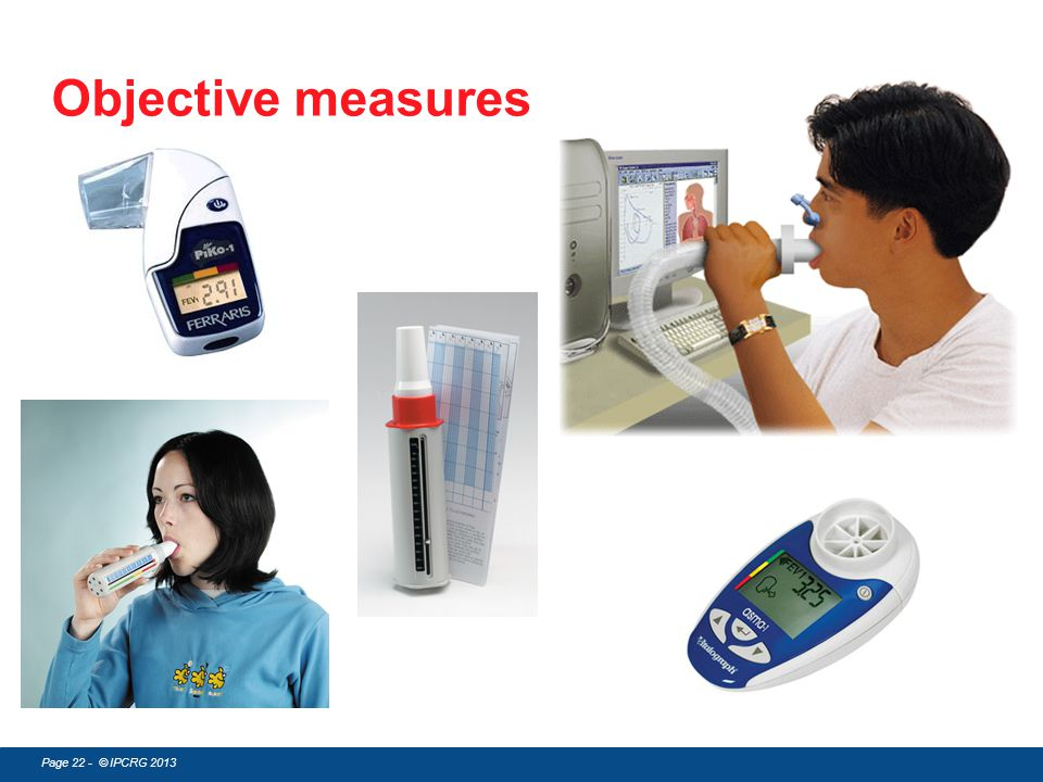 Objective measures