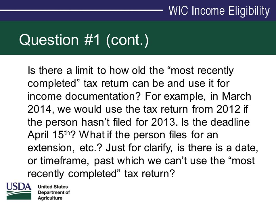 Question #1 (cont.)