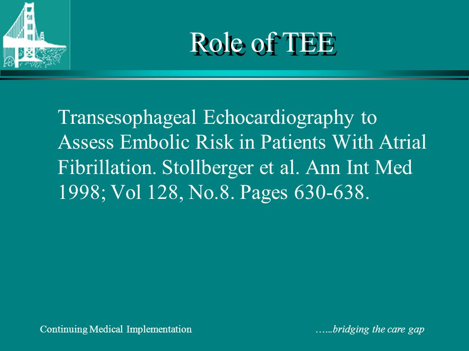 Role of TEE