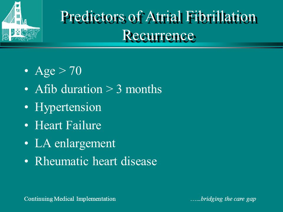 Optimal Management Atrial Fibrillation Ppt Download