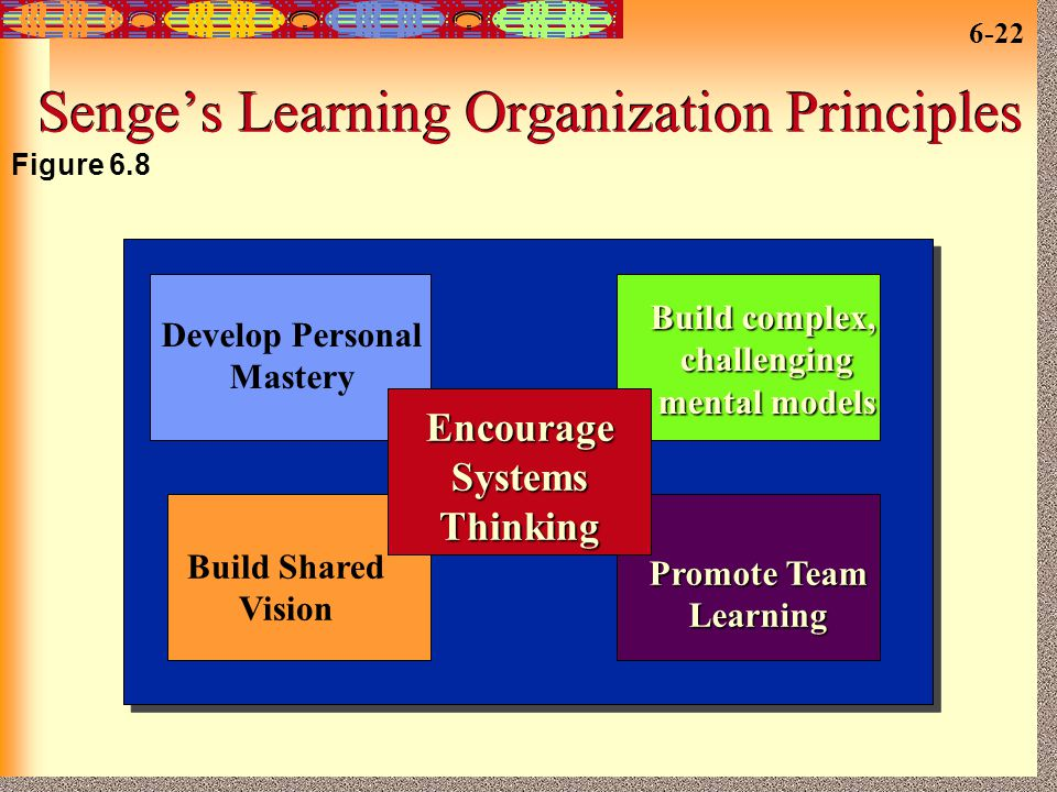 Senge's Learning Organization Principles