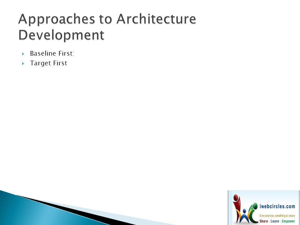 Approaches to Architecture Development