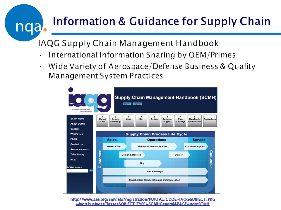 Information & Guidance for Supply Chain