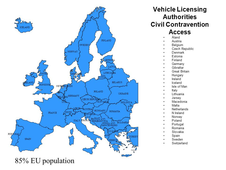 Vehicle Licensing Authorities Civil Contravention Access