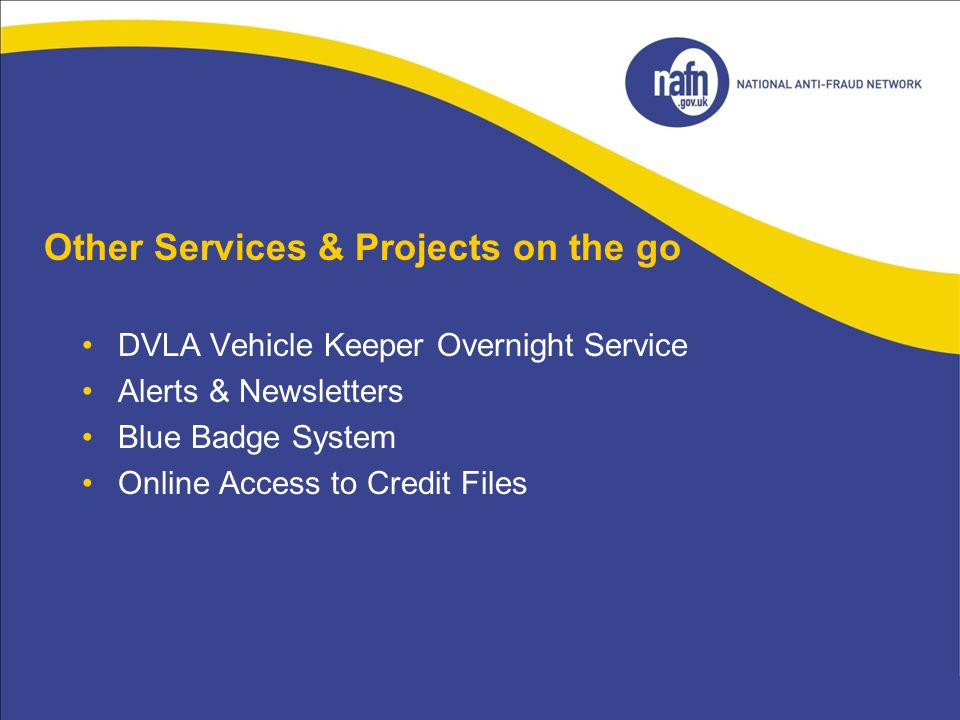 Other Services & Projects on the go